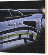 Kalahari Express Wood Print