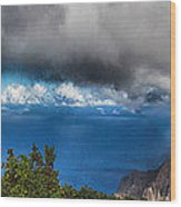 Kalalau Outlook  Wood Print