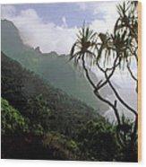 Kalalau Trail  Wood Print