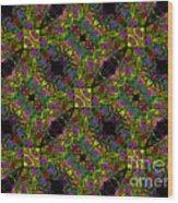 Kaleidoscope #1  Wood Print