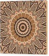 Kaleidoscope 15 Wood Print