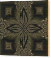 Kaleidoscope 17 Wood Print