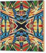 Kaleidoscope 2 Wood Print