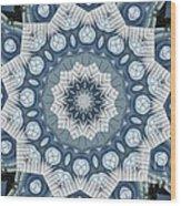 Kaleidoscope 26 Wood Print