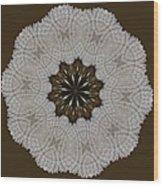 Kaleidoscope 36 Wood Print