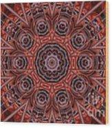 Kaleidoscope 38 Wood Print