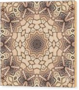 Kaleidoscope 44 Wood Print