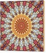 Kaleidoscope 5 Wood Print