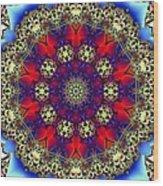 Kaleidoscope 51 Wood Print