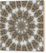 Kaleidoscope 54 Wood Print