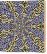 Kaleidoscope 6 Wood Print