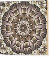 Kaleidoscope 65 Wood Print