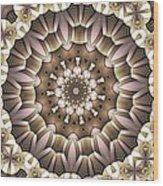 Kaleidoscope 65 Wood Print