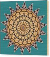 Kaleidoscope 7 Wood Print