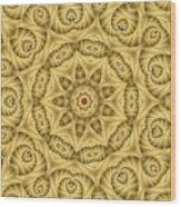 Kaleidoscope 76 Wood Print