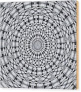 Kaleidoscope 9 Wood Print