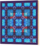 Kaleidoscope Combo 10 Wood Print