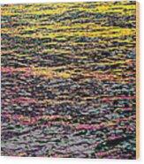 Kaleidoscope Ocean Wood Print