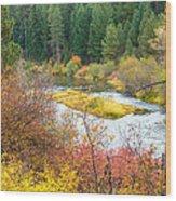 Sprague River Oregon Wood Print