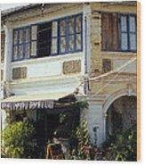 Kampot Epic Arts Cafe Wood Print