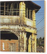 Kampot Old Colonial 03 Wood Print