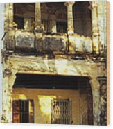 Kampot Old Colonial 05 Wood Print