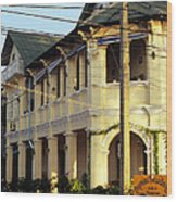 Kampot Old Colonial 07 Wood Print