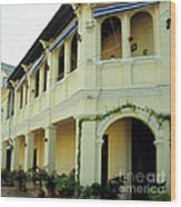 Kampot Old Colonial 08 Wood Print