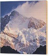 Kanchenjunga From  Goecha La  Wood Print