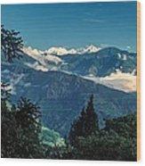 Kanchenjunga Wood Print