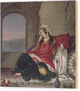 Kandahar Lady Of Rank Wood Print