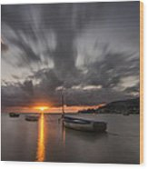 Kaneohe Bay Sunrise Wood Print