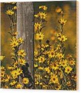 Kansas Bouquet Wood Print