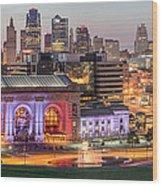 Kansas City 2 Wood Print