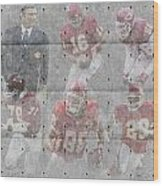 Kansas City Chiefs Legends Wood Print
