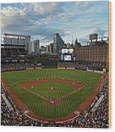 Kansas City Royals V Baltimore Orioles Wood Print