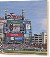 Kansas City Royals V Detroit Tigers Wood Print