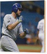 Kansas City Royals v Tampa Bay Rays Wood Print