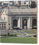 Kansas City - Union Station Wood Print