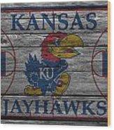 Kansas Jayhawks Wood Print