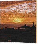 Kanyakumari Dawn Wood Print