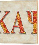 Kappa Alpha Psi - Parchment Wood Print