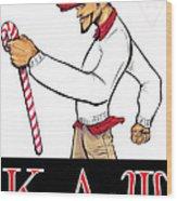 Kappa Alpha Psi Wood Print