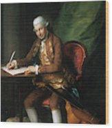 Karl Friedrich Abel (1725-1787) Wood Print