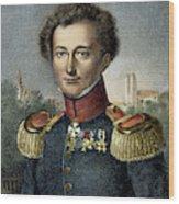 Karl Von Clausewitz (1780-1831) Wood Print