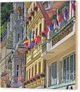 Karlovy Vary Wood Print