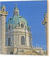 Karlskirche - Vienna Wood Print