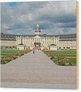 Karlsruhe Palace Wood Print