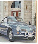 Karmann Ghia Coupe Wood Print