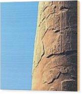 Karnak Temple 21 Wood Print
